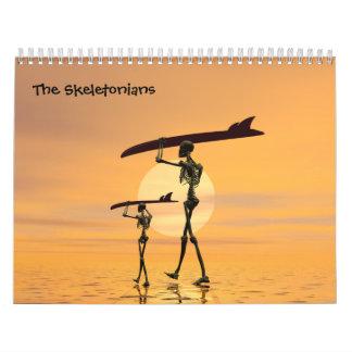 The Skeletonians calendar