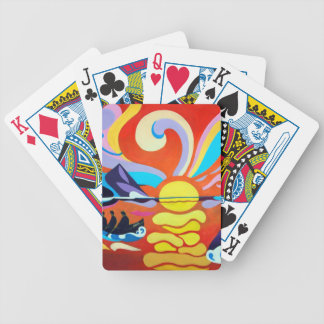 The Skellig Island Range Bicycle Playing Cards