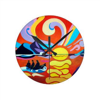 The Skellig Island Range Clock