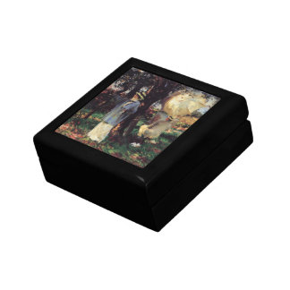 The Sketchers by Sargent, Vintage Victorian Art Keepsake Box