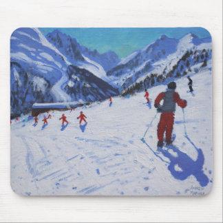 The ski instructor Mottaret Mouse Pad