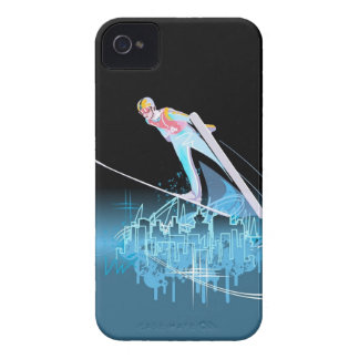 The Ski Jumper iPhone 4 Case