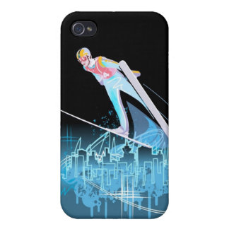 The Ski Jumper iPhone 4 Speck Case iPhone 4 Covers
