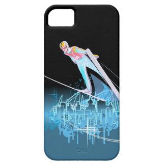 The Ski Jumper iPhone 5 Case