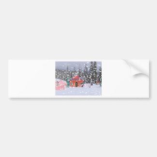 The Ski Lodge1 Bumper Sticker