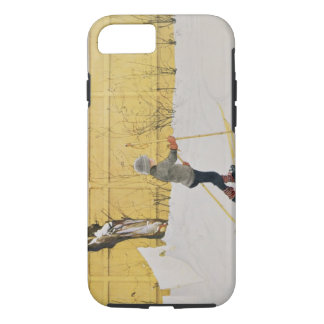 The Skier, c.1909 iPhone 8/7 Case