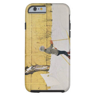 The Skier c 1909 iPhone 6 Case