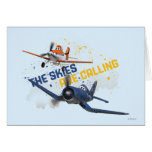 The Skies are Calling Greeting Card
