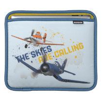 The Skies are Calling iPad Sleeve