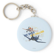 The Skies are Calling Keychain