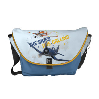 The Skies are Calling Messenger Bag