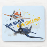 The Skies are Calling Mouse Pad