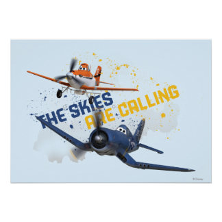 The Skies are Calling Poster