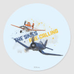The Skies are Calling Sticker