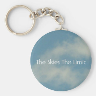 The Skies The Limit Key Chain
