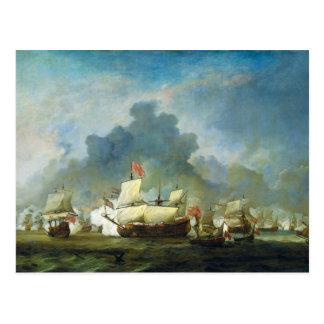 The Skirmish of Michiel Adriaensz de Ruyter Post Cards