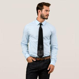 The Skirt (Dark design) Neck Tie