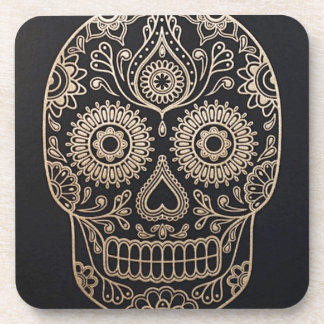 The Skull Beverage Coaster