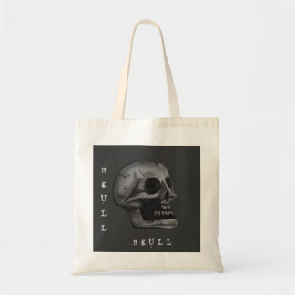the Skull! Black and White Bags