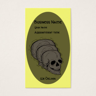 The Skull - Business Card