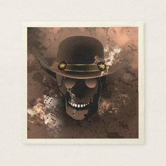 The skull fighter disposable napkins