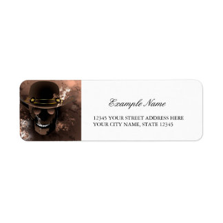 The skull fighter label