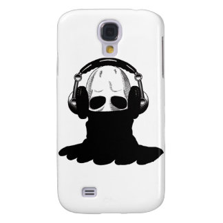 The Skull: Headphones & Black Turtleneck Samsung Galaxy S4 Cover