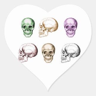 The Skull Heart Sticker