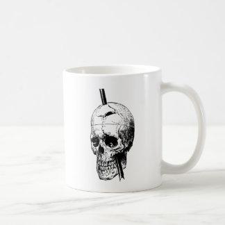 The Skull of Phineas Gage Classic White Coffee Mug