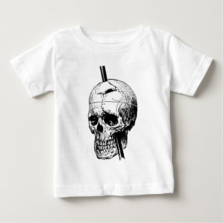 The Skull of Phineas Gage Tees