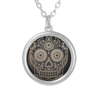 The Skull Silver Plated Necklace