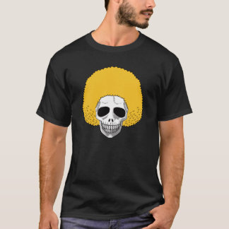 The Skull Smiley Afro Blond T-Shirt