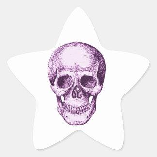 The Skull Star Sticker