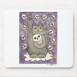 The Skulls Are Lucky Tonight Mouse Pad