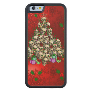 The Skulls of Christmas Carved® Maple iPhone 6 Bumper Case