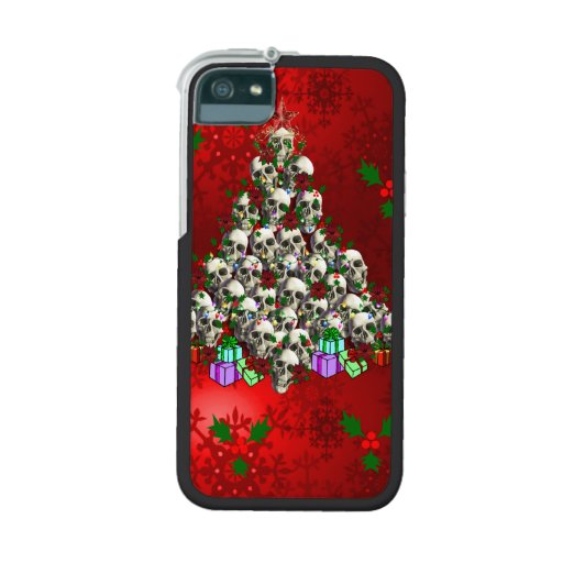 The Skulls of Christmas iPhone 5/5S Cases