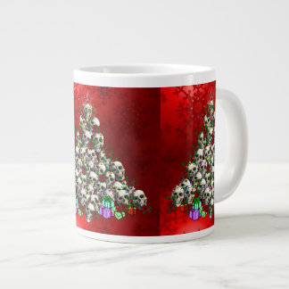 The Skulls of Christmas Large Coffee Mug