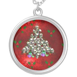 The Skulls of Christmas Custom Necklace