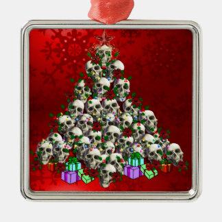 The Skulls of Christmas Ornament
