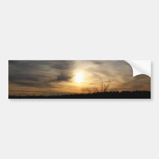 The Sky: A Canvas Car Bumper Sticker