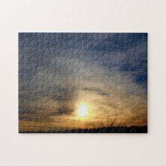 The Sky: A Canvas Jigsaw Puzzle