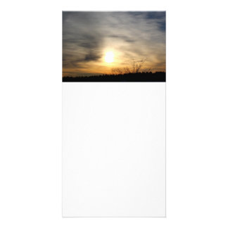 The Sky: A Canvas Personalized Photo Card