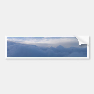 The Sky And The Clouds Bumper Stickers