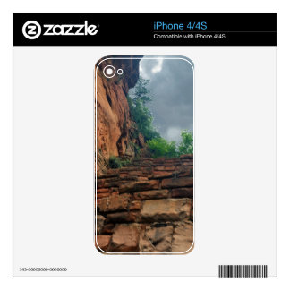 The Sky at Walters Wiggles Zion National Park Utah iPhone 4 Decal