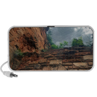 The Sky at Walters Wiggles Zion National Park Utah Portable Speaker