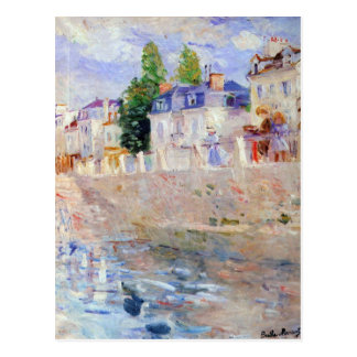 The sky in Bougival by Berthe Morisot Postcards