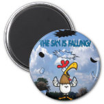 The Sky is Falling!!! 2 Inch Round Magnet