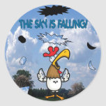 The Sky is Falling!!! Classic Round Sticker