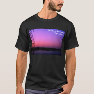 The sky is his canvas T-Shirt