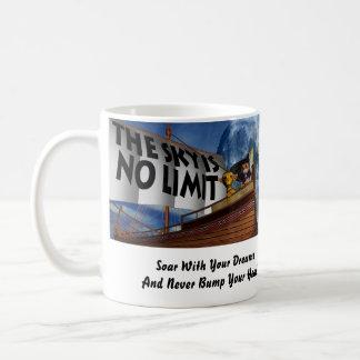 The Sky is No Limit Classic White Coffee Mug